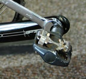 Make sure you have your Co-Pilot Single Frame Padding Kit ready to cut to fit your bike.