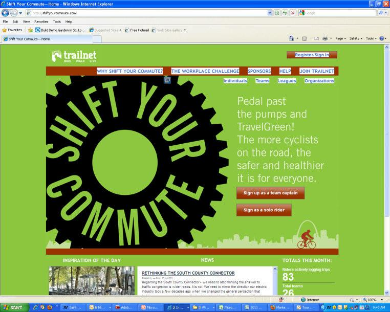 Membership Recruitment Targets: Cyclists Corporations who market themselves as green