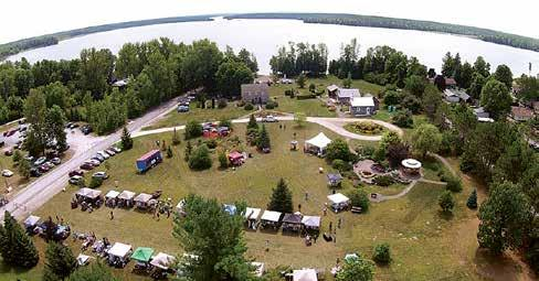 A panoramic view of the new HerbFest home on the shores of beautiful White Lake The 2017 PERTH LIONS FESTIVAL 20 TH ANNIVERSARY