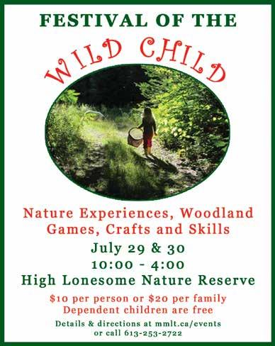 Small Halls: 2017 Line-up Photo by Jacquie Christiani Play in nature on July 29 & 30 at the MMLT Festival of the Wild Child!