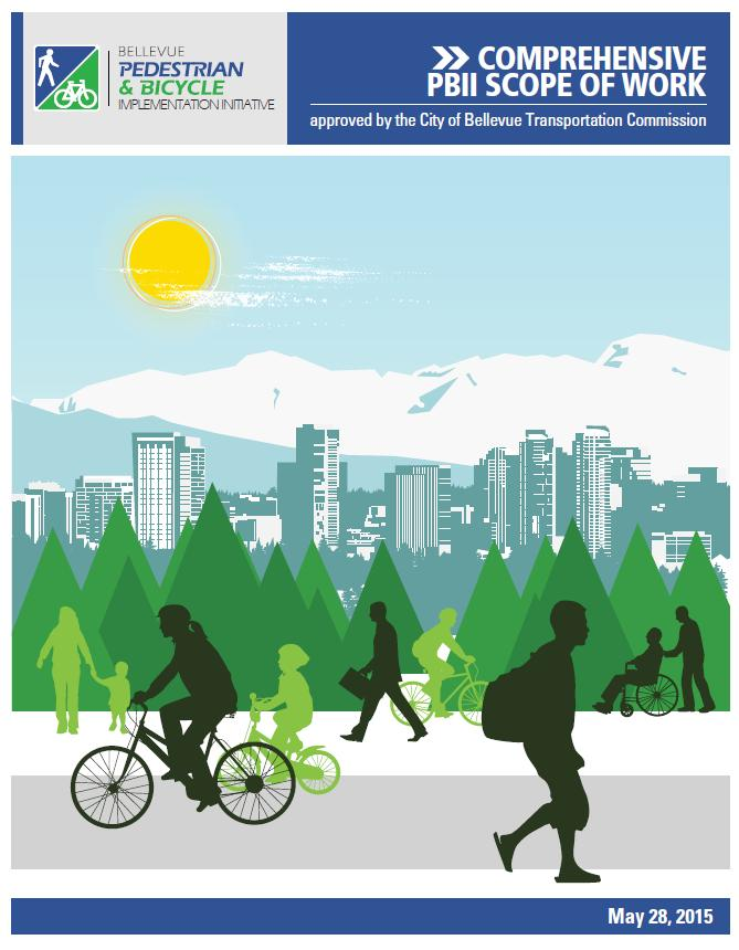 Advance the implementation of Bellevue s planned Bicycle Priority Corridors to facilitate continuous bicycle travel along a