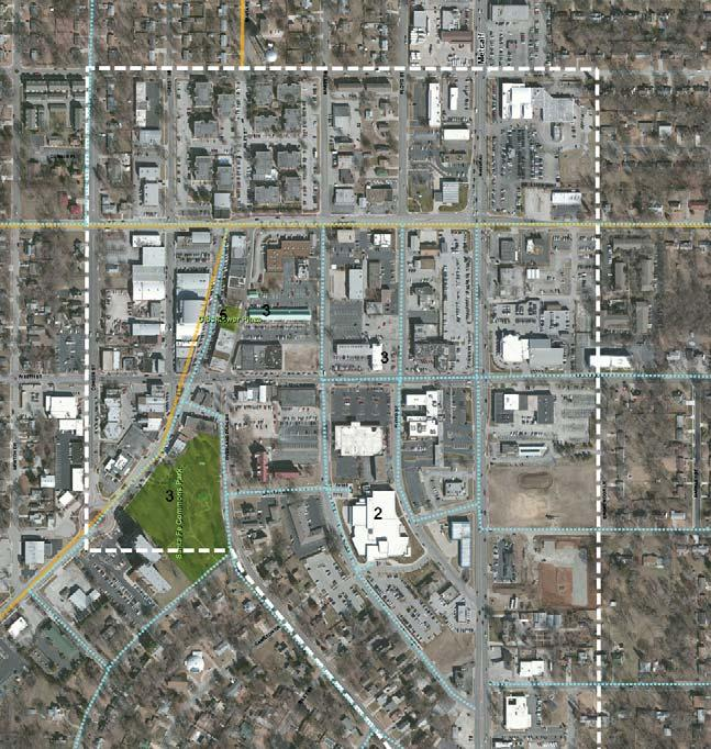 Figure 18: Public Feedback Map - Downtown Overland