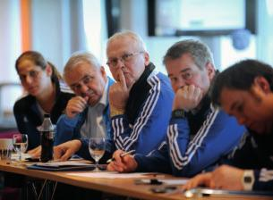 The review of the Grassroots Charter formed part of an opening-day session in Oslo, conducted by s chief technical officer, Ioan Lupescu, and head of football education services, Frank Ludolph.