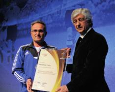 Best grassroots project Gold: Children s homes programme (Hungary): special social project providing regular football for children living in homes and orphanages.