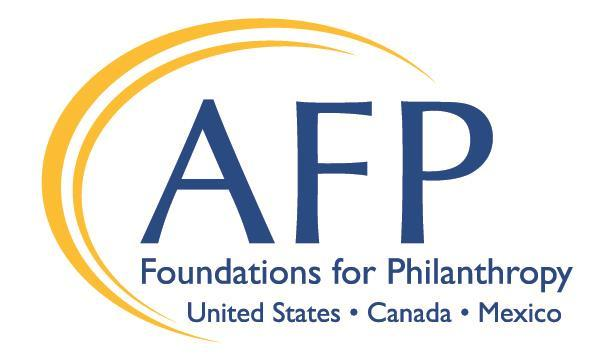 AFP Foundations for Philanthropy The AFP Foundations for Philanthropy enhance philanthropy and volunteerism through