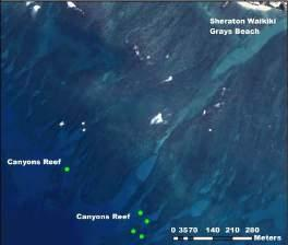 Canyon Reef DMBs 1-5 are definitely missing and were never surveyed.