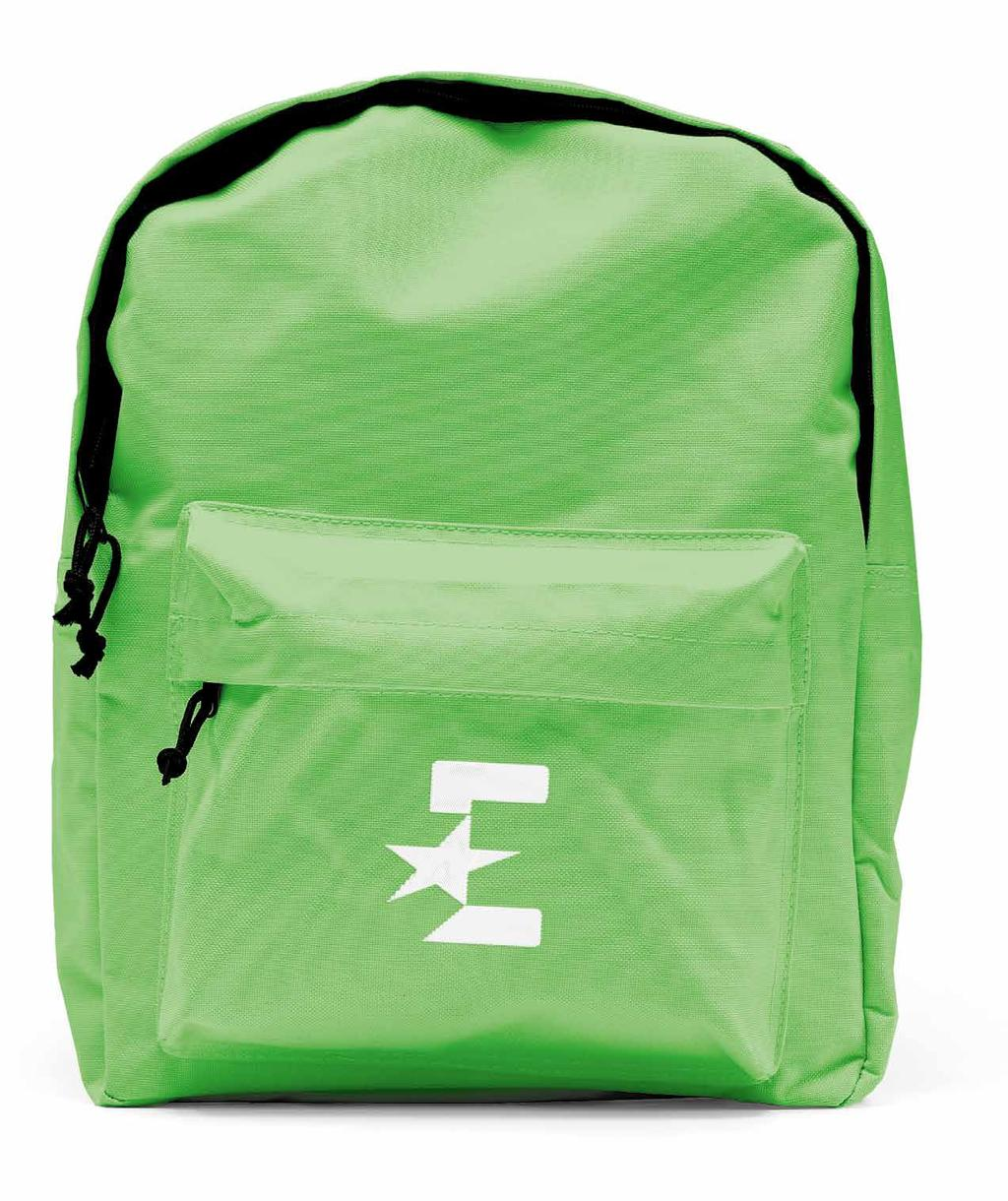 18.5 PROMOTIONAL ITEMS (viii) Backpack 91 BRANDING: Wordmark & Monogram POSITIONING: Front Pocket: Monogram is visually centered. (see pp.
