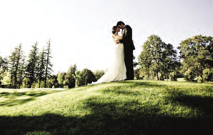 wedding amenities Exclusive use of The Grand Ballroom, The Bellevue Gardens and The