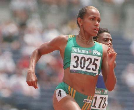 Cathy running in the 1996 Summer Olympic Games 1994 Common wealth Games in Victoria, British Columbia, Canada 17 18 In 1994, at the Commonwealth Games in Victoria, Cathy won gold medals in the