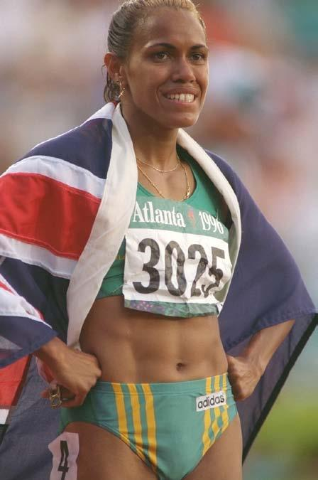 Cathy s dream of going to the Olympic Games came true in 1996 in Atlanta, Georgia. She ran the 400-meter dash in her best time ever. It made her the sixth fastest woman.