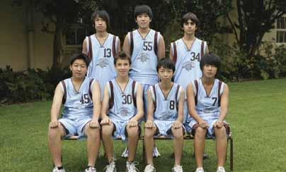 Basketball 15D Basketball Back Row: J.Yeung, A.Zhou, D.Ghezelbash. Front Row: H.Gu, W.Koslowski, W.Ma, J.Chung. 16F Basketball The 2009/2010 basketball season has been an exciting one for the 16F s.