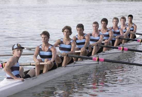 Rowing First Eight Cox: G.Deacon, Stroke: V.Boulavine, 7: M.Ambrose, 6: A.