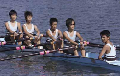Sixth Year Eight Quad Scull Bow: C.Chen, 2: A.