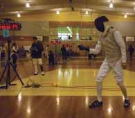Fencing Report The 2010 fencing season was an immensely enjoyable experience.