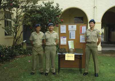 2010 was a big year for the Sydney High School Cadet Unit with many achievements made. Firstly, with a posted strength of thirty plus, the unit looked strong for the foreseeable future.