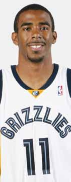 Mike Conley PLAYERS 11 POSITION GUARD HT., WT. 6-1, 185 YEARS PRO 2 COLLEGE OHIO STATE BORN 10/11/1987 FAST FACTS Posted 14.3 points, 3.9 rebounds and 5.7 assists on.454 shooting (.413 3FG) in 36.