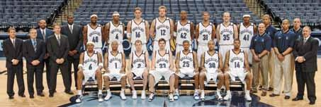 S t a t i s T I C A L R E v I E w 2004-2005 Memphis Grizzlies (45-37) Back Row, L-R: Eric Musselman, Mike Fratello, Lionel Hollins, John Welch, Mitchell Anderson, Ryan Humphrey, Stromile Swift, Pau