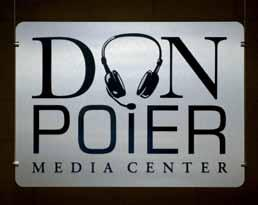 m e d i a MEDIA The Don Poier Media Center On January 21, 2005, the Memphis Grizzlies suffered a tremendous loss when the team s play-by-play announcer, Don Poier, passed away at the age of 53.