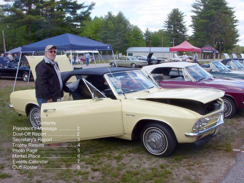 THE CORVAIR CONNECTION June 2013 Dust-Off Issue THE OFFICIAL NEWSLETTER OF THE CENTRAL