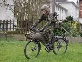 Russian troops have used bicycles less than their NATO opponents but even here it is common for a division to include at least one battalion on bicycles (or equivalent, often it is broken down into