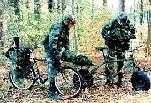 Each German infantry and panzer division will have a rear area security battalion of fusiliers (fusilier hintere Bereichssicherheit)mounted on bicycles and each brigade its own company (the exception