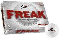 TOP FLITE FREAK GOLF BALLS- 6 AVAILABLE- Top-Flite Freak Golf Balls are engineered to deliver outstanding performance.