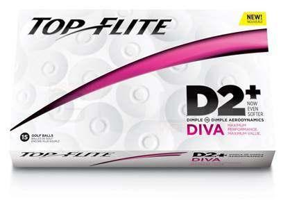 TOP FLITE D2 STRAIGHT GOLF BALLS- Top-Flite Straight Golf Balls come in a package of 12.
