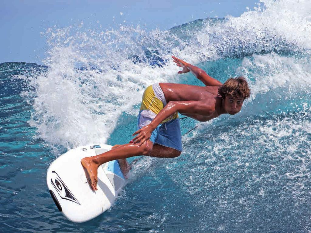 BIC SURF ALLROUND DuRA-TEC DEVELOPED & PRODUCED IN FRANCE Matahi: I was bowled over by the control and comfort on top of the wave, where it pivots on its own axis.