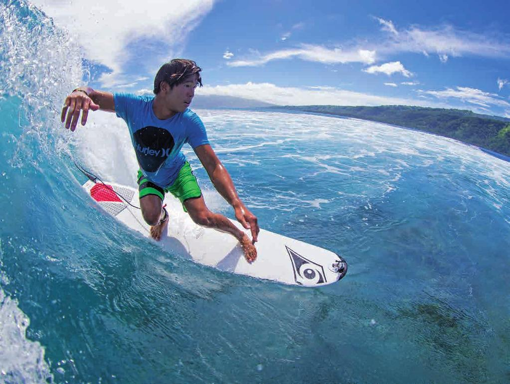 BIC SURF ALLROUND DuRA-TEC DEVELOPED & PRODUCED IN FRANCE Yann: A great board for relatively calm, unbroken surf. Ideal for surf schools, perfect for learning and progressing.
