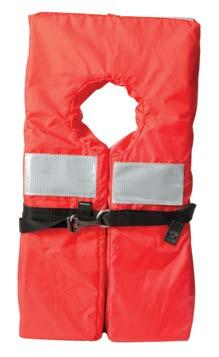 WEARABLE LIFE JACKET TYPES There are four types of wearable life jackets approved for use on recreational