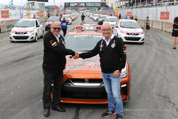 IN THE WORLD OF THE MICRA CUP MICHEL BARRETTE IN THE NISSAN MICRA CUP NEXT YEAR!