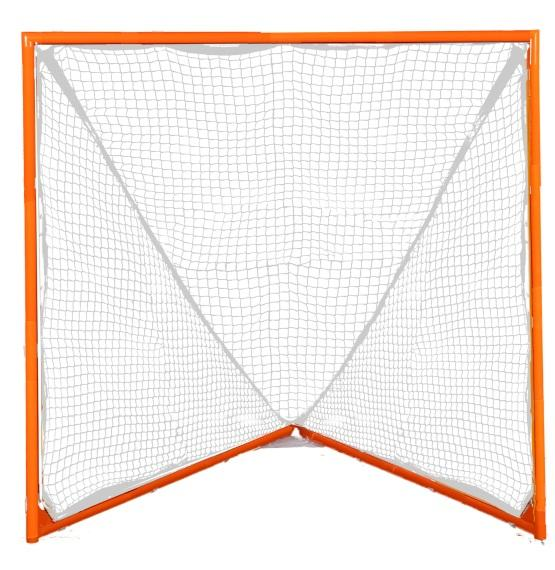 Lacrosse Goalie Stick/Goal LENGTH: 40 to 72 maximum STRINGING: 6 7 leather and/or synthetic thongs and cross lacing should be mesh POCKET: Legal when ball moves freely in pocket and stick