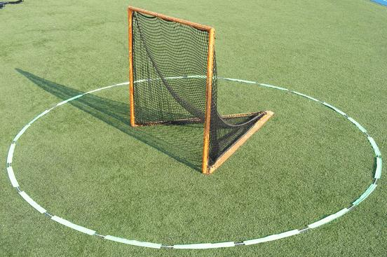 Goal Crease Stepping on the crease line is considered being in the crease Offense cannot enter the crease, with the exception after releasing a shot and scoring, they can run through the crease