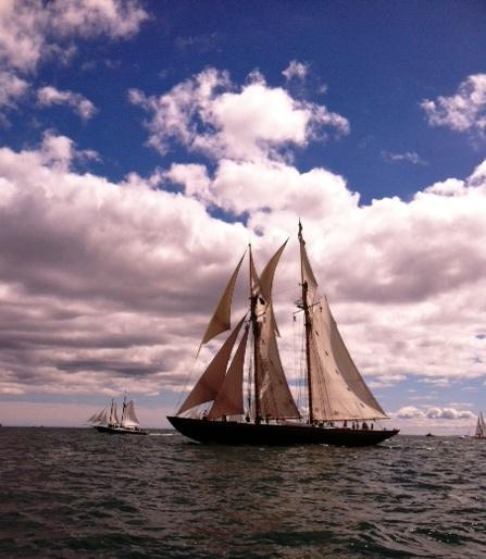 The First Annual Schooner Festival by Rita C. Lehto 3 The first annual Schooner Festival was held in New London the weekend of September 14-15.