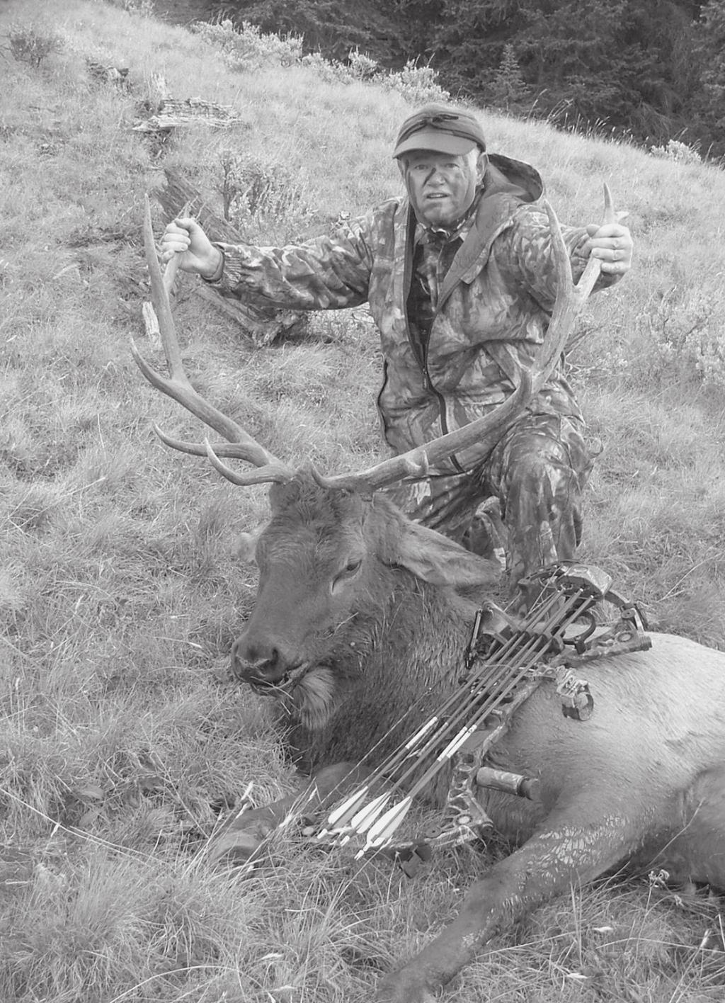 November, 2007 Page 5 2007 Fall Fundraiser Raffle Winners TSA MEMBER KEVIN HENNING of Boerne with his his young 6x6 archery elk taken in September in Wyoming s Washakie Wilderness.