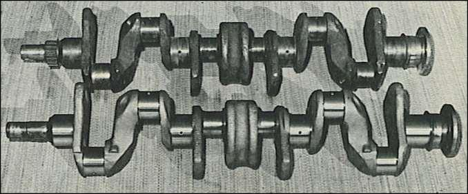 ABOVE - And here's the stroker by CrankShaft Company which, at 5 inches with the stock 3 13/16- inch bore, yields 346 cubes, plus generous torque increase.