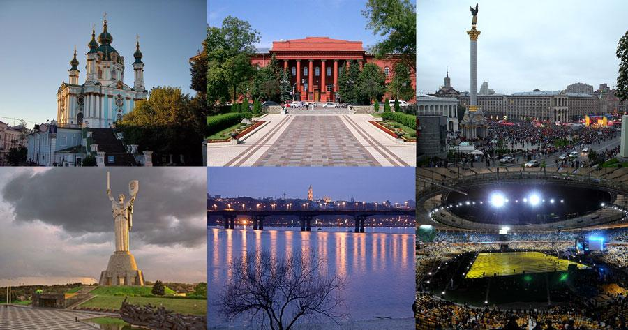 THE CITY THE CITY Kiev or Kyiv is the capital and the largest city of Ukraine, located in the north central part of the country on the Dnieper River.