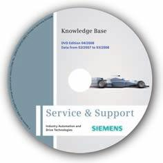 Appendix Service & Support Siemens AG 2011 Knowledge Base on DVD For locations without online connections to the Internet there are excerpts of the free part of the information sources available on