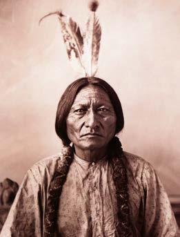 In 1876, the U.S. government sent troops to protect the prospectors and ordered all Lakota to move to reservations. Sitting Bull refused.