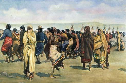 Even today, dances of celebration are important to many tribes. One of those dances is the Grass Dance (or Omaha Dance), which is thought to have started in the 1800s, possibly as a warrior dance.