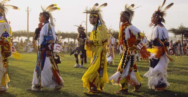 Some tribes used the Grass Dance to flatten the grass before larger tribal ceremonies; others used it to celebrate victory over an enemy. Now, the Grass Dance is performed in tribal competitions.