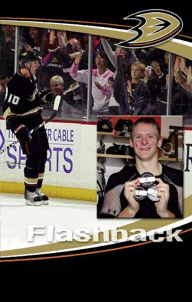 Watch All Three Goals Corey Perry and fans celebrate the first hat trick of his career, which led