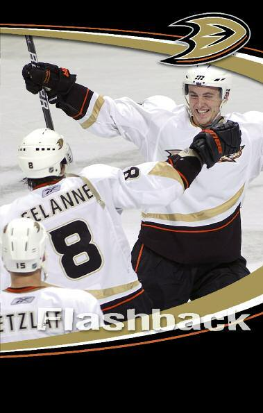 Watch Fowler s Shootout Goal The Ducks oldest player is the first one to congratulate the youngest, as Teemu Selanne