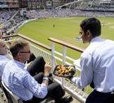 HOSPITALITY PACKAGES: THE PAVILION END The Pavilion End have as their foundation the historic Kia Oval Pavilion - recognised the world over as a cricketing icon.