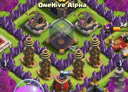 You should try to place springs at the center of a defensive building on the side which hogs will path to it.