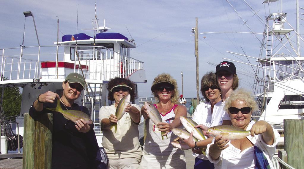 Ladies, Let s Go Fishing! TM Women anglers have become more prevalent in the world of fishing.