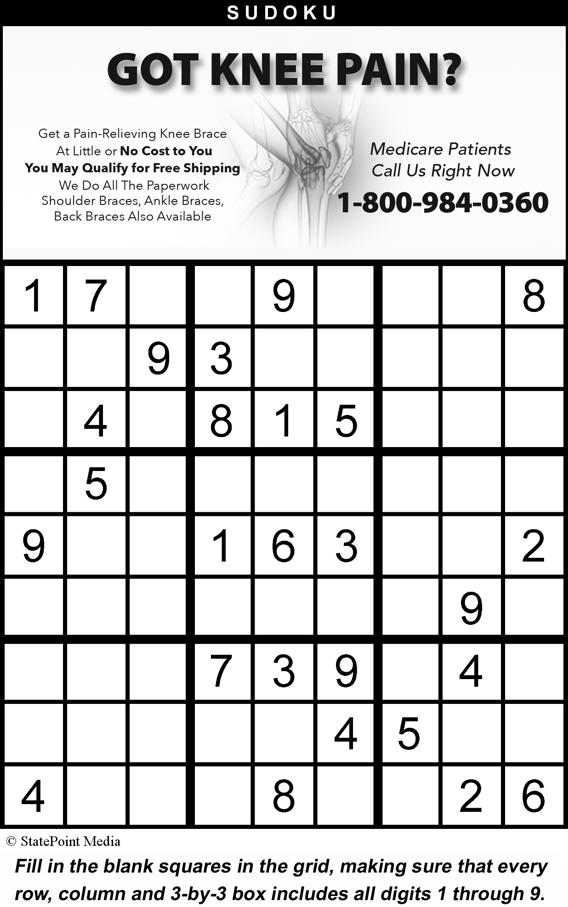 Puzzles 11 Solutions are located on Page 5 STATEPOINT CROSSWORD CLUES THEME: THINK SPRING ACROSS 1. Boat load 6. Line of work 9. Stairway alternative 13. Hitler's mistress 14. High or low card 15.