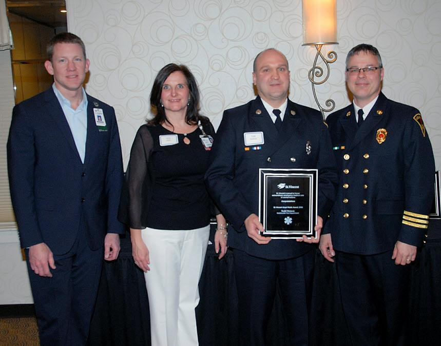 While Todd excels at everything he does his passion for the job shines through in his patient care, said James Macky, NFD division chief of emergency medical services.