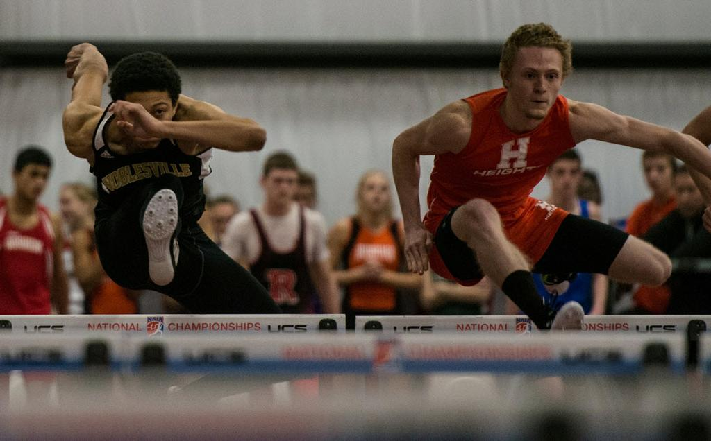 Millers, Huskies, Rocks get victories Qualifications for the upcoming Hoosier State Relays continued this weekend, with the Hamilton Heights, Noblesville and Westfield track and field teams all