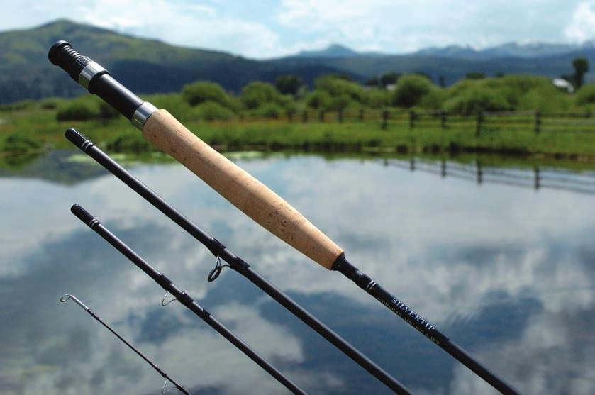 Cat.# = Product number Size = Available sizes $ = A, B, C and D refer to price codes YELLOWSTONE FLY RODS Yellowstone Fly Rods presents the SIL- VERTIP FLY ROD, an affordable eight foot six inch,